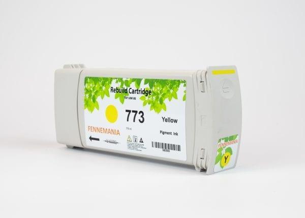 HP 773C 775-ml Yellow DesignJet Ink Cartridge(C1Q40A)