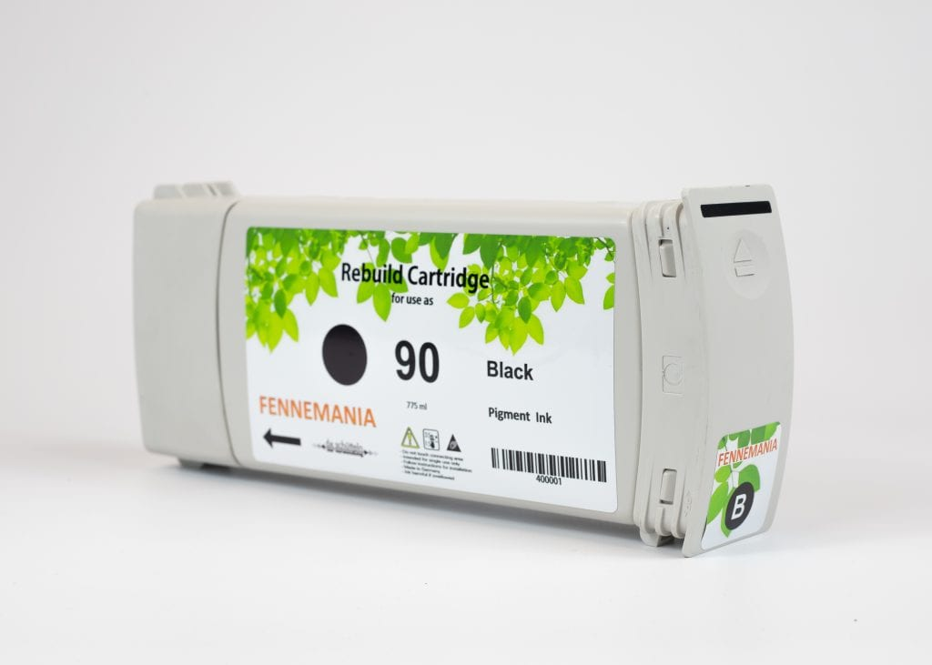 HP 90 775-ml Black DesignJet Ink Cartridge(C5059A)