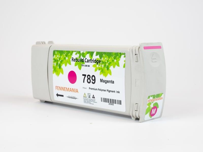 HP 789 775-ml Magenta Latex DesignJet Ink Cartridge(CH617A)