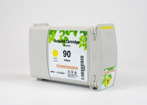 HP 90 400-ml Yellow DesignJet Ink Cartridge(C5065A)