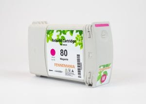 HP 80 350-ml Magenta DesignJet Ink Cartridge(C4847A)
