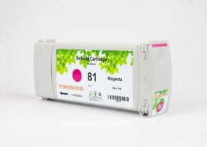 HP 81 680-ml Magenta DesignJet Dye Ink Cartridge(C4932A)