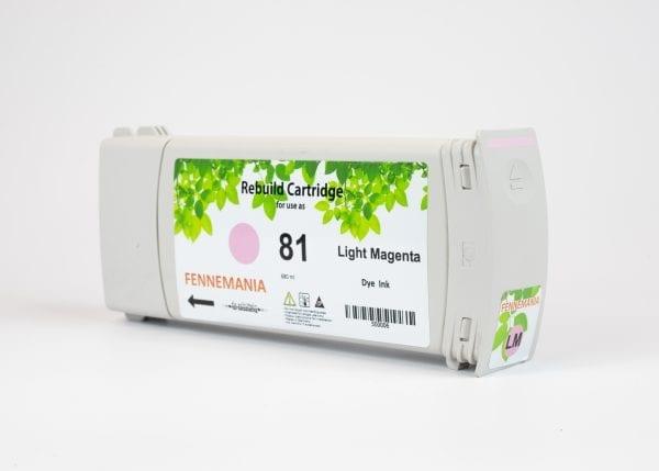 HP 81 680-ml Light Cyan DesignJet Dye Ink Cartridge(C4934A)