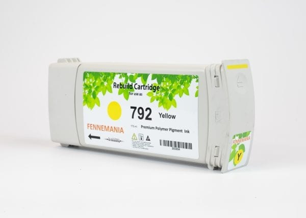 HP 792 775-ml Yellow Latex DesignJet Ink Cartridge(CH708A)