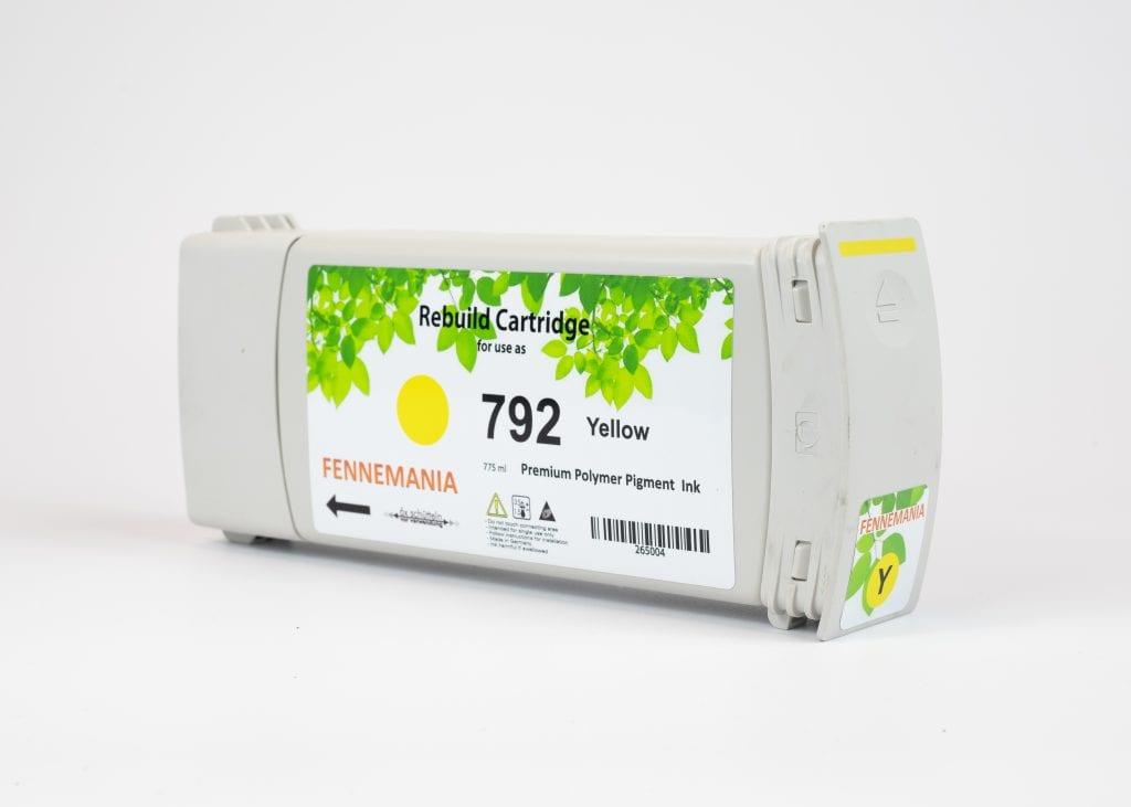 HP 792 775-ml Yellow Latex DesignJet Ink Cartridge(CH708A)