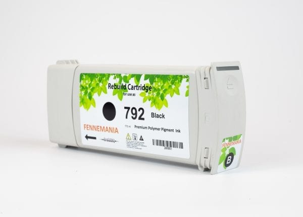 HP 792 775-ml Black Latex DesignJet Ink Cartridge(CH705A)