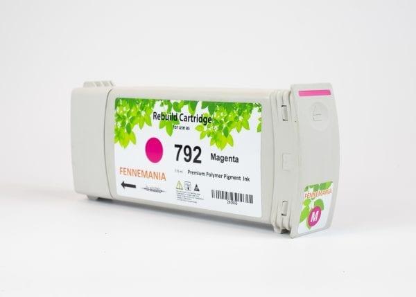 HP 792 775-ml Magenta Latex DesignJet Ink Cartridge(CH707A)