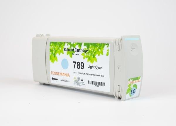 HP 789 775-ml Light Cyan Latex DesignJet Ink Cartridge(CH619A)