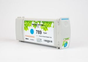 HP 789 775-ml Cyan Latex DesignJet Ink Cartridge(CH616A)