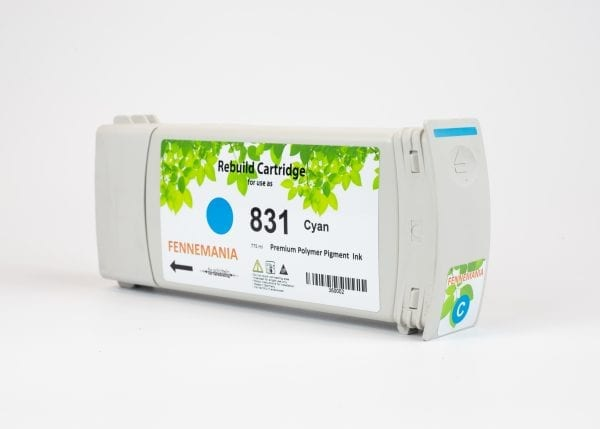 HP 831 A 775-ml Cyan Latex Ink Cartridge(CZ683A)