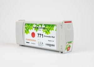 HP 771A 775-ml Chromatic Red DesignJet Ink Cartridge(B6Y16A)