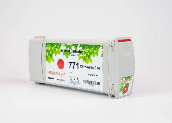 HP 771A 775-ml Chromatic Red DesignJet Ink Cartridge(B6Y16A)