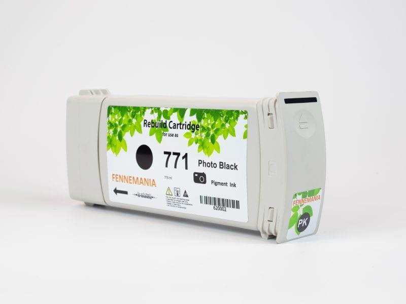 HP 771A 775-ml Photo Black DesignJet Ink Cartridge(B6Y21A)