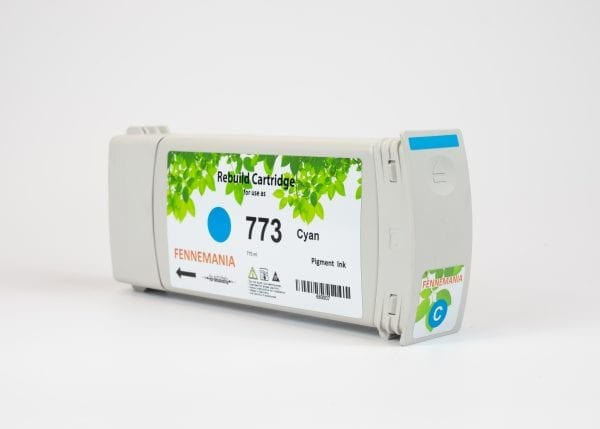 HP 773C 775-ml Light Cyan DesignJet Ink Cartridge(C1Q42A)