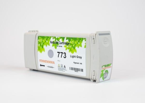 HP 773C 775-ml Light Grey DesignJet Ink Cartridge(C1Q44A)
