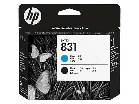 HP 831 Cyan/Black Latex Printhead (CZ677A)