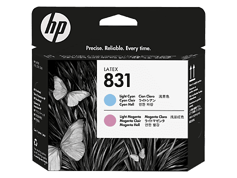 HP 831 Light Magenta/Light Cyan Latex Printhead (CZ679A)