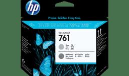 HP 761 Gray/Dark Gray Designjet Printhead (CH647A)
