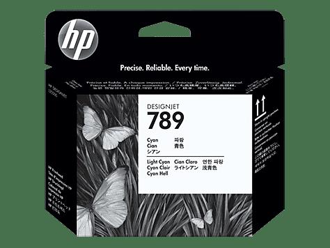 HP 789 Cyan/Light Cyan DesignJet Printhead (CH613A)