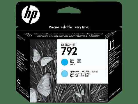 HP 792 Cyan/Light Cyan Latex Printhead (CN703A)