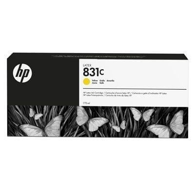 HP 831C 775-ml Yellow Latex Ink Cartridge (CZ697A)