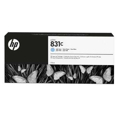 HP 831C 775-ml Light Cyan Latex Ink Cartridge (CZ698A)