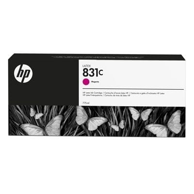 HP 831C 775-ml Magenta Latex Ink Cartridge (CZ696A)