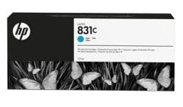 HP 831C 775-ml Cyan Latex Ink Cartridge (CZ695A)