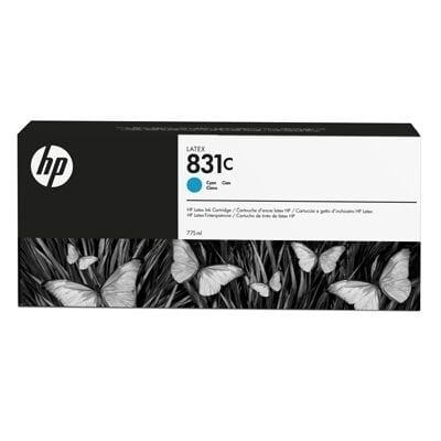 HP 831C 775-ml Cyan Latex Ink Cartridge (CZ695A)