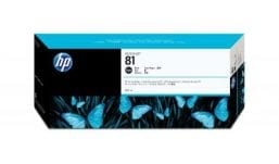 Genuine Black HP 81 Ink Cartridge - (C4930A)