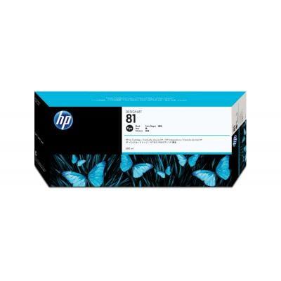 Genuine Black HP 81 Ink Cartridge - (C4930A)