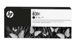 HP 831C 775-ml Black Latex Ink Cartridge (CZ694A)