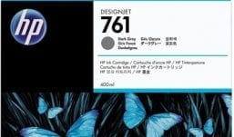 Genuine Dark Grey HP 761 Ink Cartridge - (CM996A)