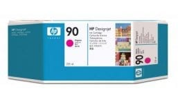 Genuine High Capacity Magenta HP 90 Ink Cartridge - (C5063A)