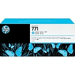 Genuine Light Cyan HP 771C Ink Cartridge - (B6Y12A)