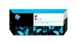 Genuine Magenta HP 81 Ink Cartridge - (C4932A)