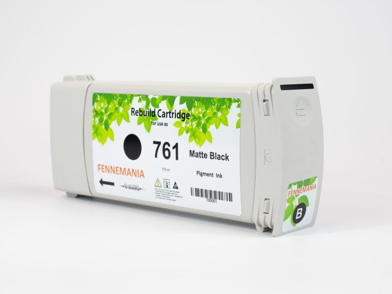 HP 761 775-ml Matte Black DesignJet Ink Cartridge(CM997A)