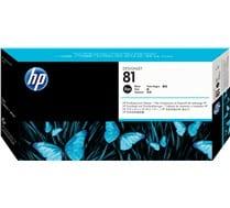 Testina di stampa e pulisci testina dye nero HP 81