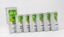 Set Hp727 ink cartridges